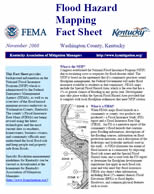 Flood Hazard Mapping Fact Sheet